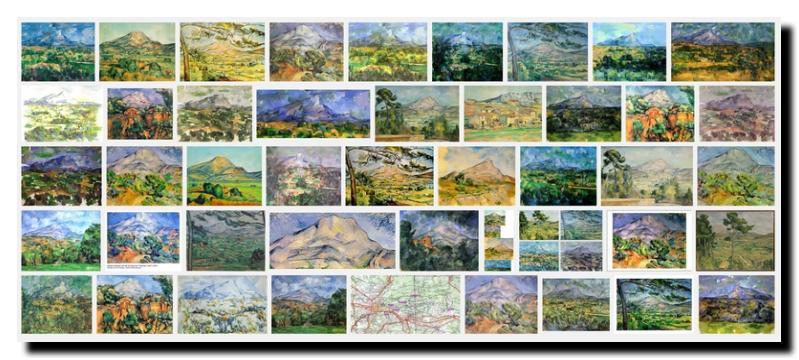 Pourquoi cette obstination de Cézanne à représenter la Saints Victoire ?